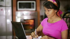 Master Sequence: preparing and cooking food kitchen Stock Footage
