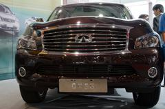 Infinite qx56  car on display Stock Photos
