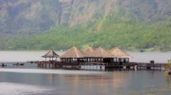Batur Danau Lake, Bali Stock Footage