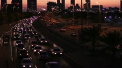 Stock Video Footage of sunset in bahrain