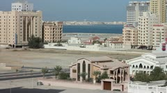 BAHRAIN - MARCH 2012: ordinary bahrain streets Stock Footage