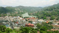 Kandy, Sri Lanka - stock footage