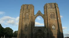 Elgin Cathedral Scotland Stock Footage