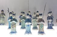 Chinese ancient characters statue Stock Photos