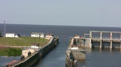 waterway - stock footage