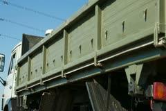 Dump Truck - stock footage