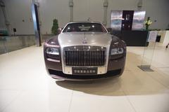 april 2012 beijing auto show, rolls-royce luxury cars (gust) - stock photo