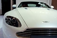 2012 Pekingin kansainvälisessä autonäyttelyssä Aston Martin urheiluauto Kuvituskuvat