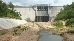 Kamchay dam Stock Footage