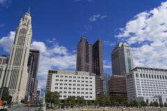 Columbus Skyline Kuvituskuvat