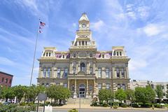 Downtown Zanesville, Ohio Stock Photos