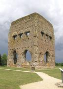 temple of janus in france - stock photo