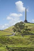 auckland one tree hill - stock photo