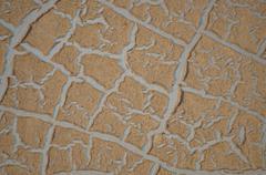 Cracked paint Stock Photos