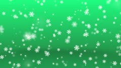 Snow Flakes Stock Footage