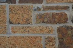 The stone wall Stock Photos
