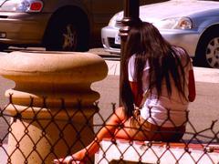 Women waiting Stock Photos
