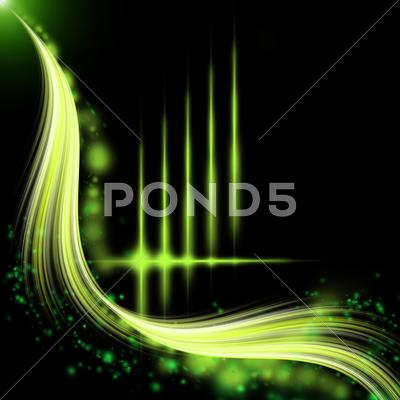 Stock Illustration of abstract green pattern