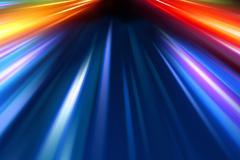 Abstract night acceleration speed motion Stock Illustration