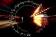 Zoom acceleration motion Stock Illustration