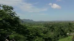 Valle de Vinales, Cuba Stock Footage