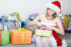 Christmas preparation Stock Photos