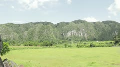 Valle de Viñales Stock Footage