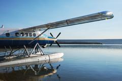 Aircraft on alaska Stock Photos