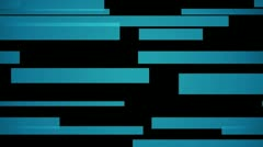 Horisontal blue Stock Footage