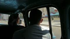 Cuba car Stock Footage