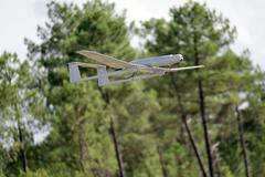 uav army modern plane - stock photo