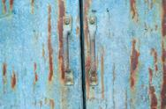 Rusty iron gate Stock Photos