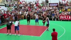 Fіnal Ukrainian streetball league Stock Footage