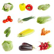 Vegetables. healthy food Stock Photos