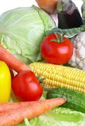 Stock Photo of vegetables. healthy food