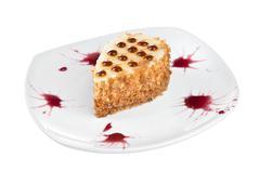dessert - cake - stock photo