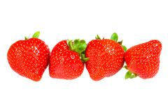 Stock Photo of ripe strawberry