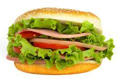 Stock Photo of burger