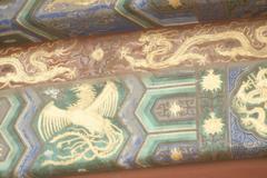Lohikäärmeitä ja Phoenix Kuvituskuvat