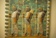Stock Photo of babylonian archers,
