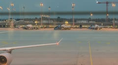 1 Flughafen1080 Stock Footage
