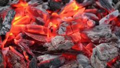 Fire burning Stock Footage
