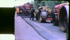 ROAD REPAIR CREW POLITICAL PRISONERS USSR 1970s Vintage Film Home Movie 4310 Stock Footage