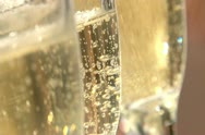 Stock Video Footage of Champagne bubbles