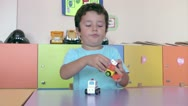 Stock Video Footage of Preschool Student