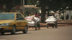 African Street 05 Stock Footage