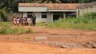 African School Children Stock Footage