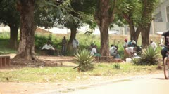 African Street 001 - stock footage