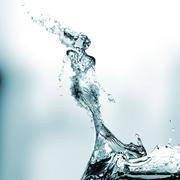 Water lady Stock Illustration