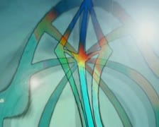 VJ Loop,Alchemical Signs and Religous Crosses - stock footage